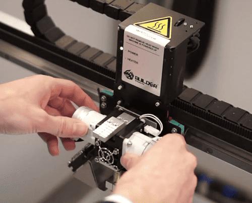 manutenzione stampante 3d