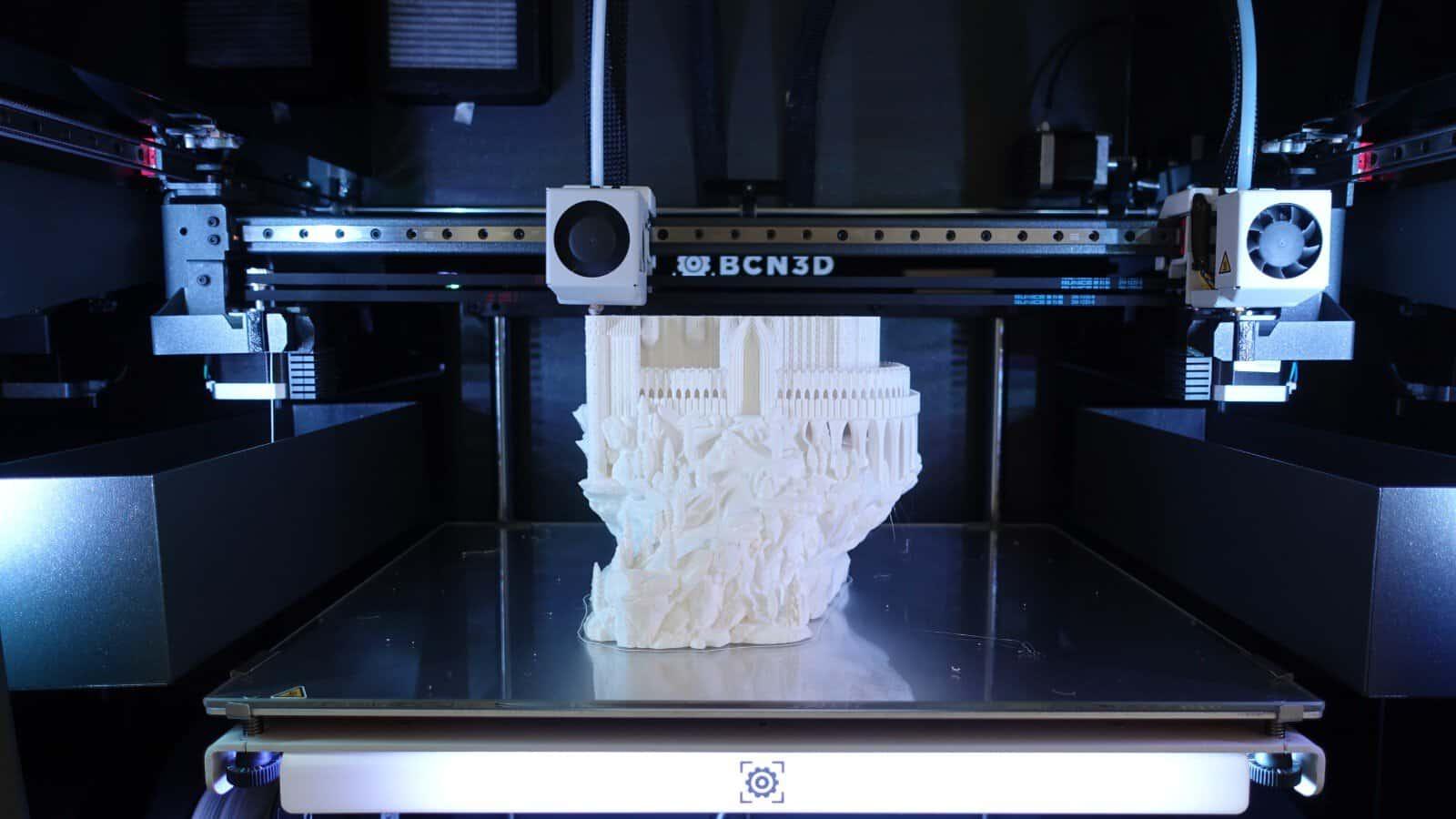BCN3D Epsilon W50 – Test di stampa