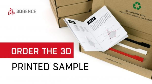 Campioni di stampa gratuiti 3DGence